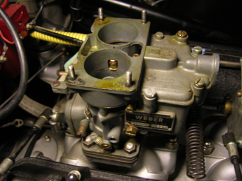 Proper idle jets are very important to a webers - Weber prim ad ...